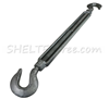 TURNBUCKLE 1/2 HOOK ON ENDS