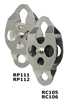 CMI RP111 DOUBLE ENDED PULLEY