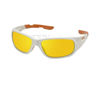 ELVEX RSG101 ORANGE SAFETY GLASSES