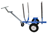LOG HAND TRUCK W/TIRE UPGRADE