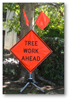 SIGN ONLY TREE WORK MESH